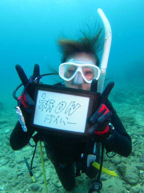 ダイビング ライセンス