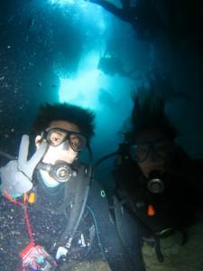 沖縄 ダイビング 青の洞窟