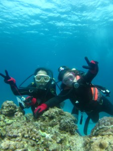 沖縄 ダイビング 体験 チービシ