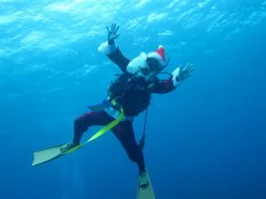 沖縄 ダイビング 慶良間 チービシ クリスマス