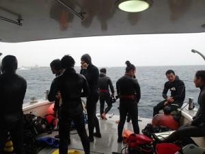 沖縄 ダイビング サンゴ移植