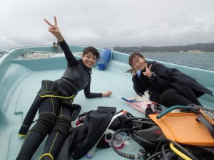 沖縄 ダイビング FUN ボート