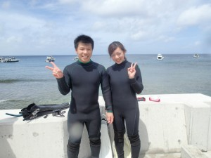沖縄 ダイビング 砂辺 ビーチ 体験