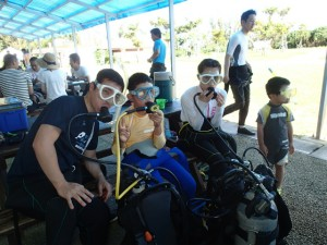 沖縄 ダイビング 青の洞窟 体験