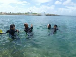 沖縄 ダイビング AOW ビーチ