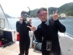 沖縄 ダイビング 慶良間 体験ダイビン