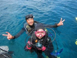 沖縄 体験ダイビング 慶良間 子供