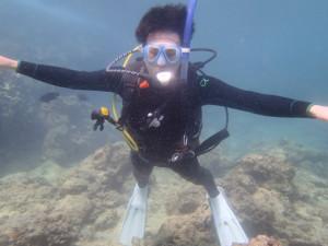 沖縄 ダイビング 砂辺 OWD ライセンス講習