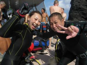 沖縄 ダイビング 慶良間 体験ダイビング OWD講習 AOW講習