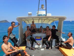 沖縄 ダイビング 慶良間 体験ダイビング FUNダイビング