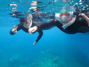 沖縄 体験ダイビング スノーケル