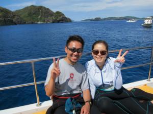 沖縄 体験ダイビングj