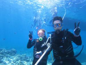 慶良間 体験ダイビング