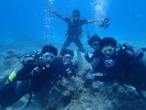沖縄 慶良間 ダイビング 体験ダイビング