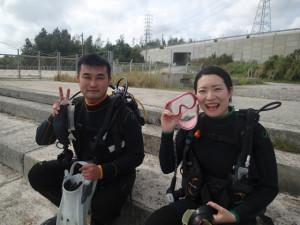 沖縄 ダイビング レッドビーチ 体験ダイビング