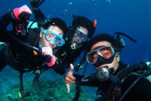 沖縄 ダイビング 講習 PADI