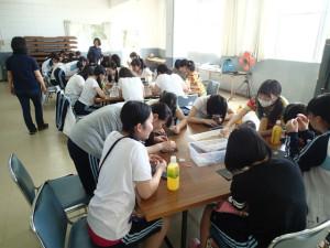 沖縄 ダイビング 海の自然史研究所 修学旅行