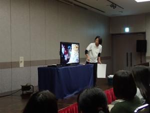 沖縄 ネイチャーワークス サンゴ学習