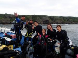沖縄 ダイビング ラストメンバー