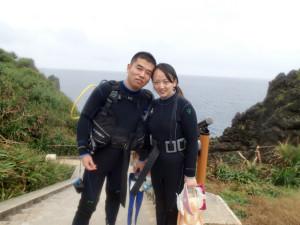 沖縄 ダイビング 体験ダイビング 青の洞窟