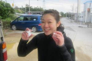 沖縄 ダイビング 手作りバブ