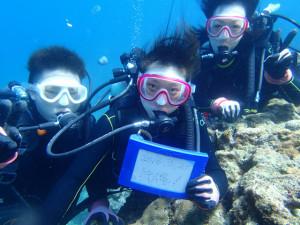 沖縄 ダイビング 青の洞窟 体験ダイビング