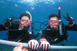 沖縄 ダイビング ダイブサポートスティック