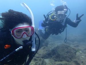 沖縄 ダイビング ビーチ講習