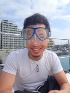 沖縄 体験ダイビング マスク