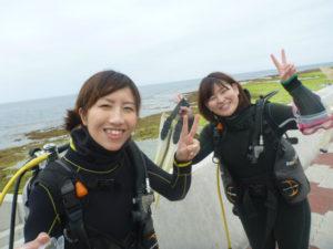 沖縄 ダイビング FUNダイビング ビーチ 砂辺