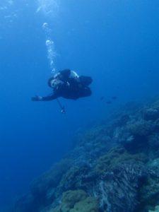 沖縄 ダイビング 砂辺 講習 FUNダイビング