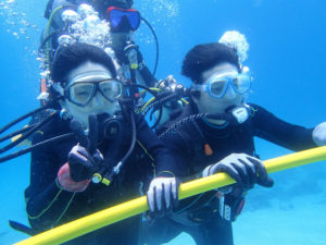 沖縄 体験ダイビング ダイブサポートスティック