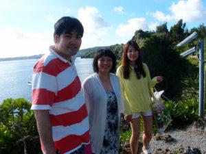 沖縄 ダイビング 真栄田岬 青の洞窟 体験ダイビング 親子