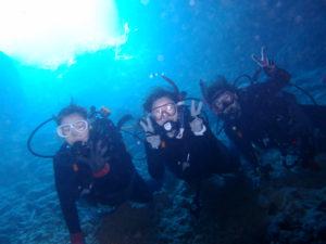 沖縄 ダイビング 青の洞窟 体験ダイビング FUNダイビング