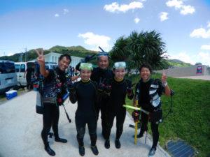 沖縄 ダイビング ゴリラチョップ 体験ダイビング FUNダイビング