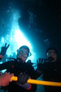 沖縄 体験ダイビング 洞窟