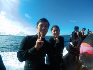 沖縄 ダイビング ジンベエザメ FUNダイビング