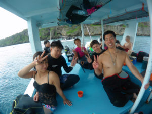 沖縄 体験ダイビング 真栄田 青の洞窟
