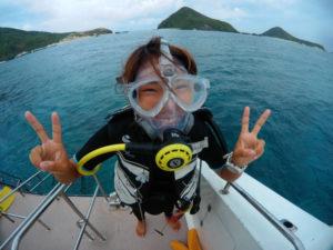 沖縄 ダイビング フルフェイスマスク