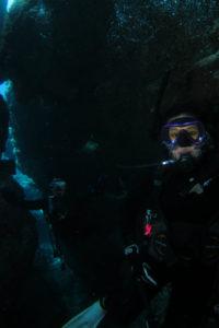 沖縄 diving 地形