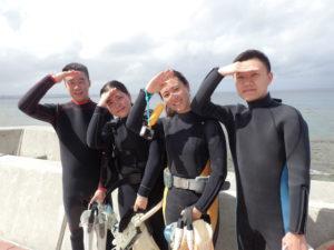 沖縄 砂辺 体験ダイビング シュノーケル