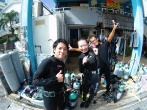 沖縄 砂辺 ダイビング