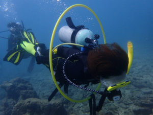 沖縄 砂辺 ダイビング AOW講習