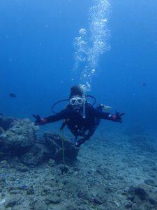 沖縄 砂辺 ダイビング PADI講習