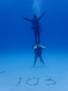 沖縄 万座 FUNダイビング ダイビング