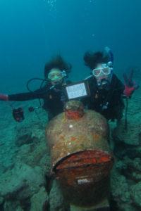 沖縄 ダイビング 砂辺水中ポスト