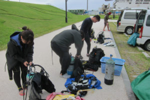 沖縄 本部 OW講習 ダイビング ライセンス講習