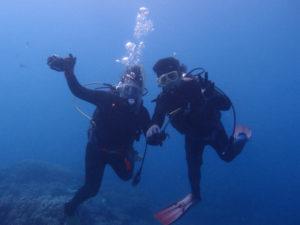 沖縄 近海 イナンビシ ダイビング FUNダイビング