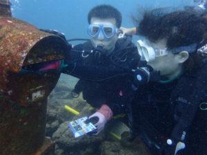 沖縄 砂辺 体験ダイビング ダイビング