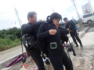 沖縄 OW講習 ダイビング ライセンス 東海岸